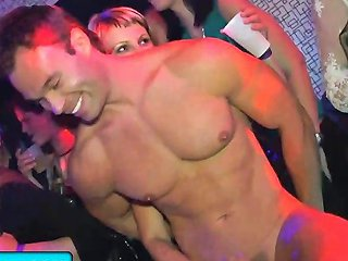 Party Sluts Gets Fucked And Fingered By Strippers