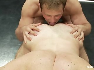 James Gates Gives A Rimjob And Gets His Ass Torn Up After A Fight